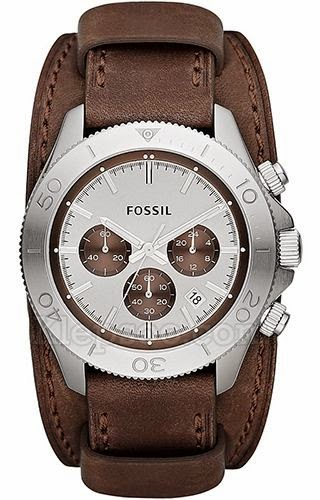 CH2857 Fossil Retro Traveller Brown