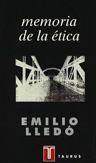 """""""memoria de la ética"""" - Emilio Lledó"""