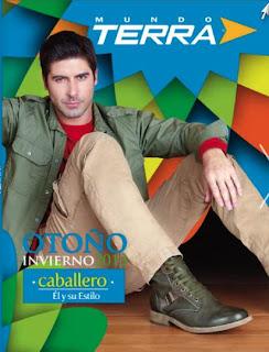 catalogo terra zapatos de hombre OI 2013
