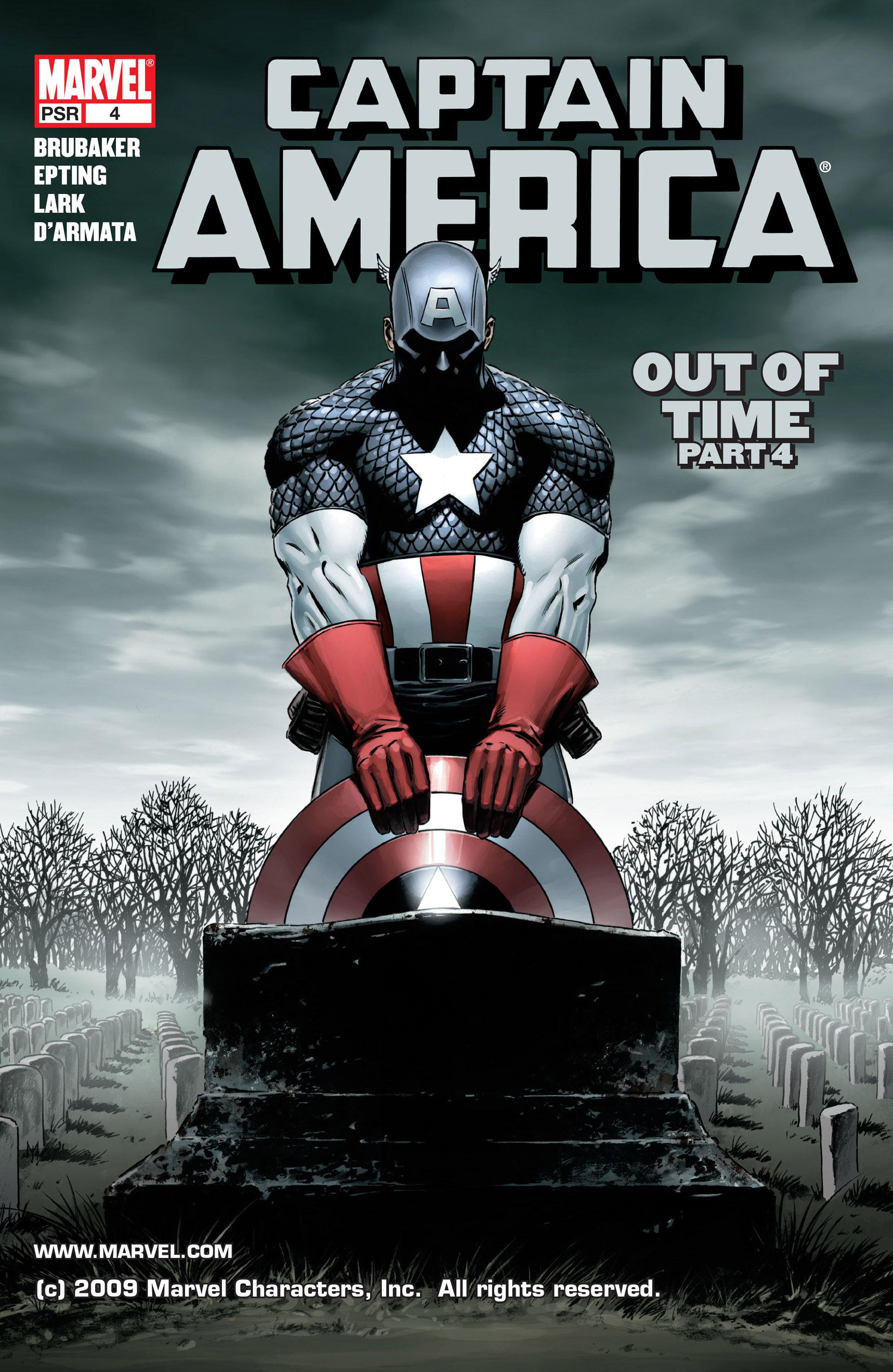 Captain America (2005) Issue #4 #4 - English 1