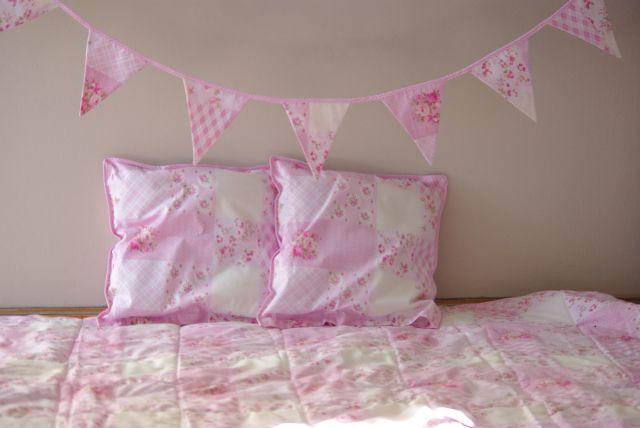 kapa na łóżko IKEA, kapa patchwork