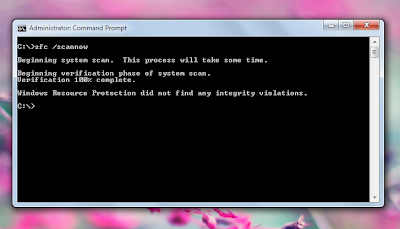 How to Repair Missing or Corrupt System Files on Windows 7