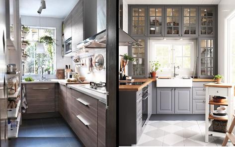 Nemulsa design cocinas peque as c mo ganar espacio - Electrodomesticos para cocinas pequenas ...
