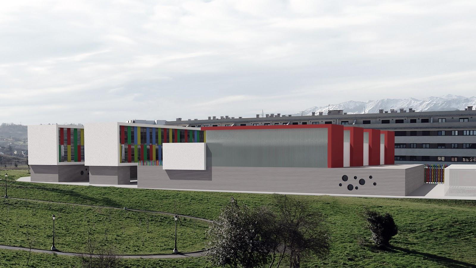 Eduardo fernandez arquitecto concurso para colegio de - Arquitectos en oviedo ...