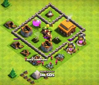 Strategi Bermain CoC Clash of Clans Sebelum Menyerang Base Lawan