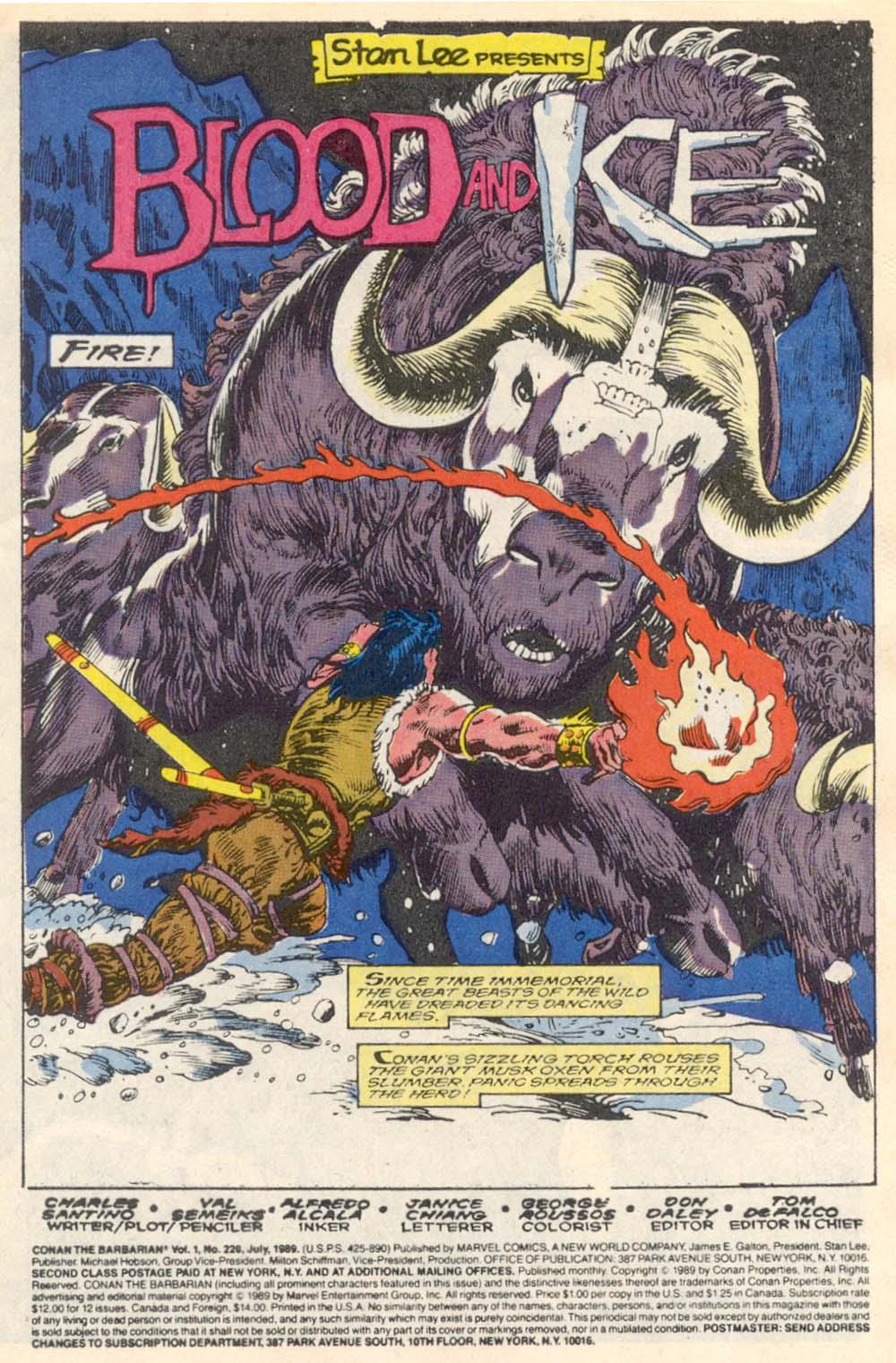 Conan the Barbarian (1970) Issue #220 #232 - English 2