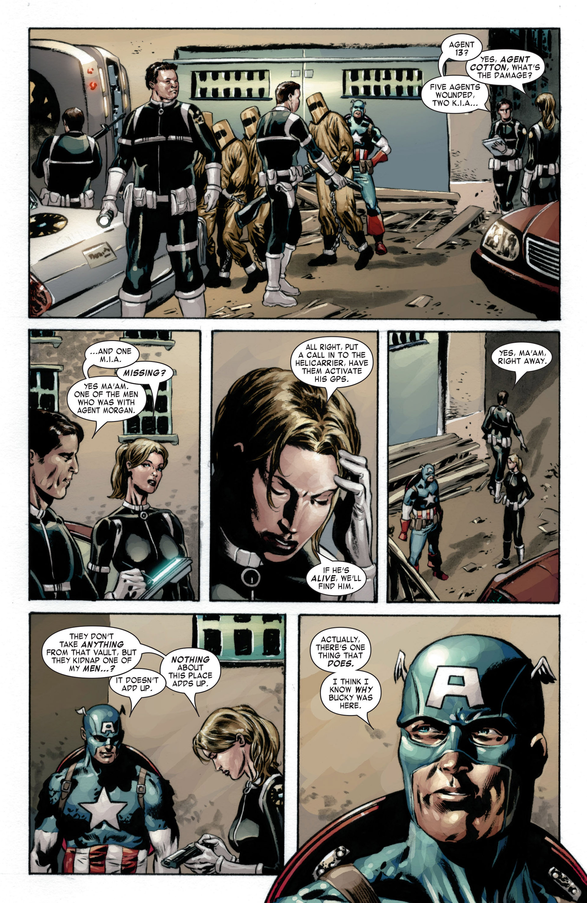 Captain America (2005) Issue #17 #17 - English 17