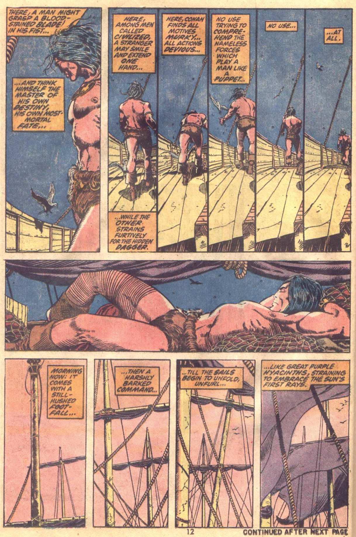 Conan the Barbarian (1970) Issue #19 #31 - English 10