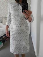 Finished 'draped dress'