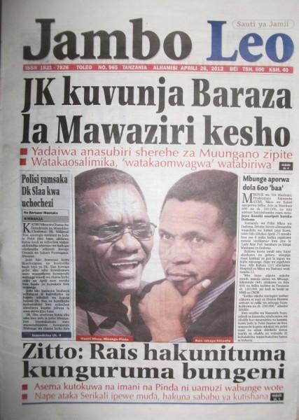 haya tusubiri hiyo kesho maana ni masaa machache from now je jk