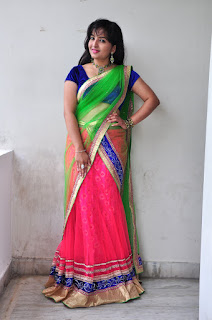 New actress Roshini half saree Picture shoot 037.jpg