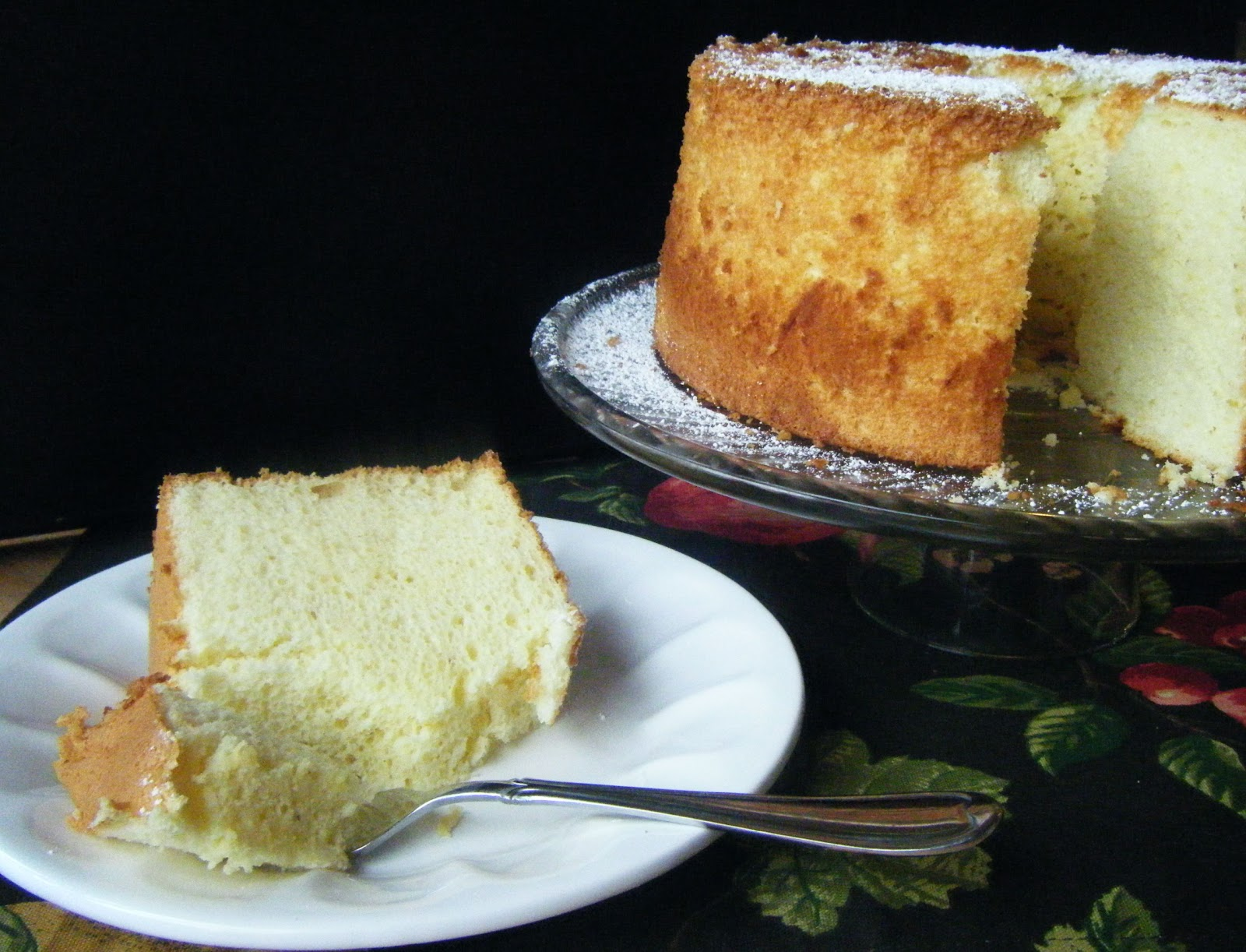 ... West Side Baker Rosemary And Olive Oil Chiffon Cake Cake on Pinterest