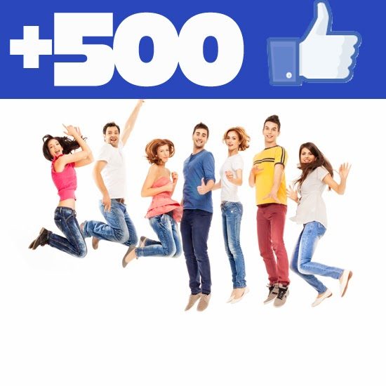 Buy 500 Facebook Fanpage Likes