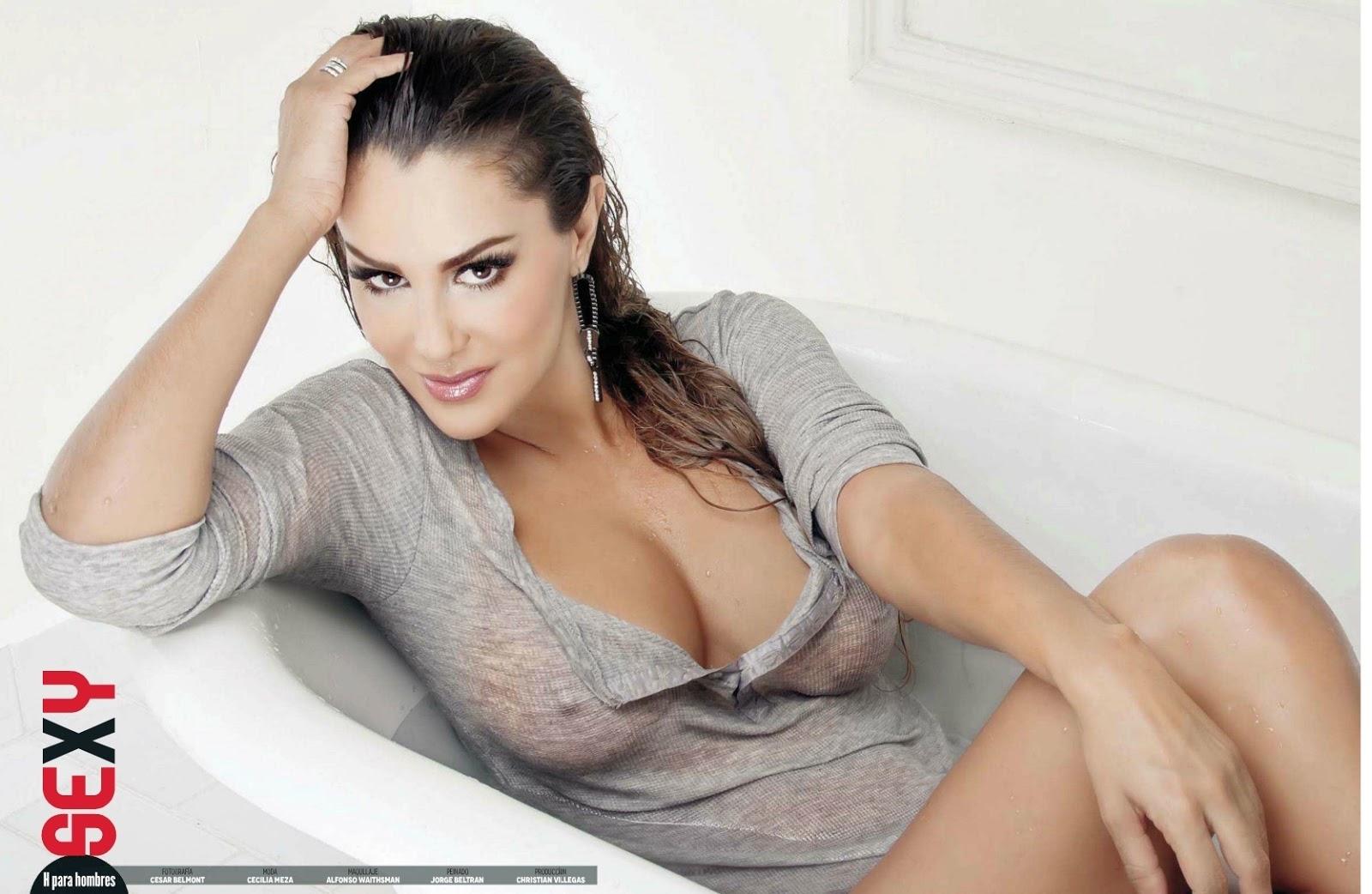 Ninel Conde desnuda - Fotos y Vídeos -