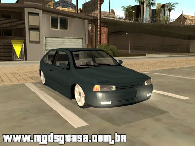 Vw Gol G2 Turbo Edit para GTA San Andreas
