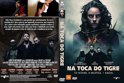Capa DVD Na Toca Do Tigre