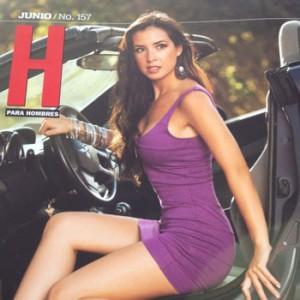 ... con Tres Hombres Video sin Censura: Revista H Fatima Torre Junio 2012
