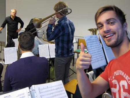 Jonas Kristensen fra Sæby Big Band Synes Godt Om Jesper Riis