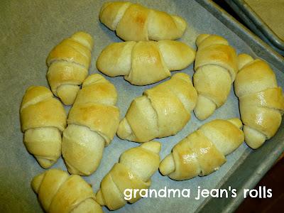 Grandma Jean's Rolls