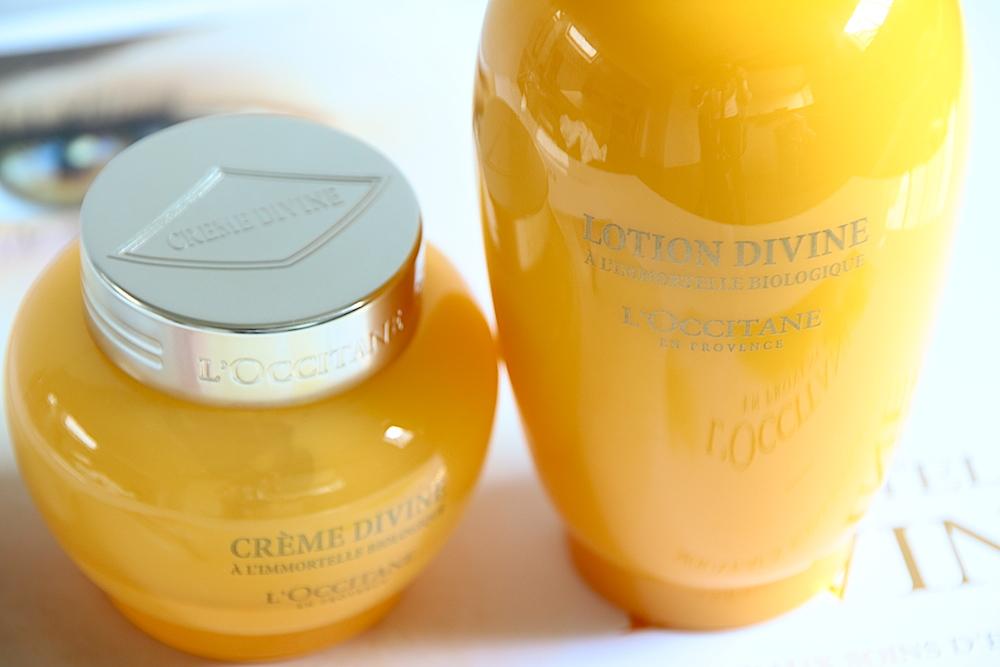 l'occitane crème divine lotion crème soins visage avis test