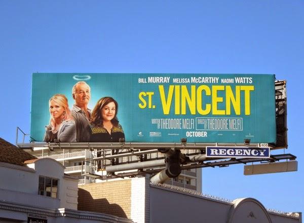 St Vincent film billboard