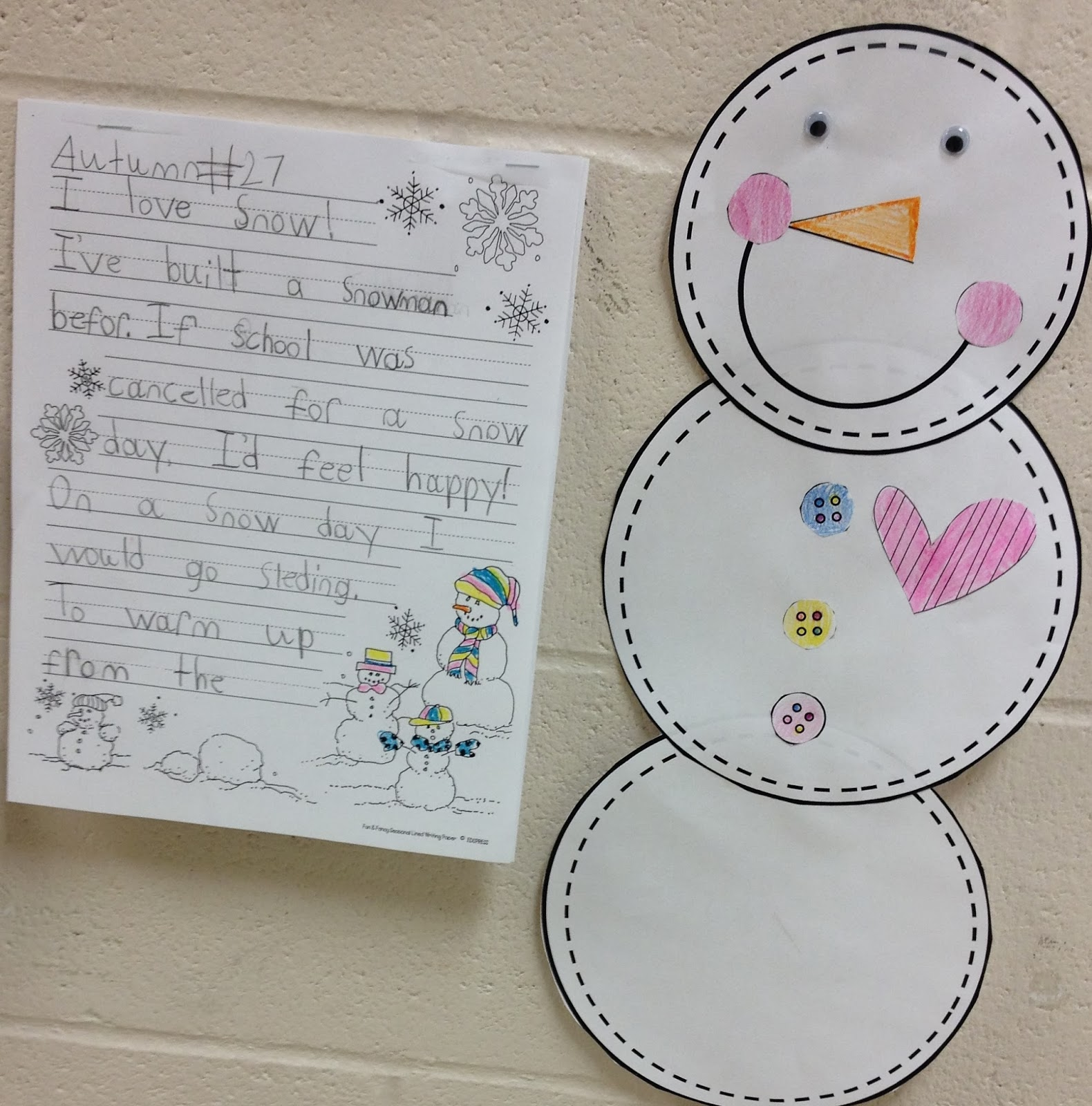 http://www.teacherspayteachers.com/Product/Snowman-Glyph-Craftivity-464337