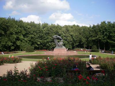 monumento a Chopin Varsavia