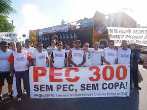 Passeata da PEC 300, no Recife, em 15 de agosto de 2013 - foto 01