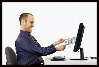 robo de dinero por internet
