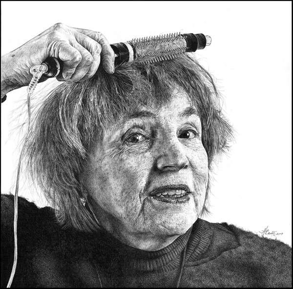 Karya Pencil Drawing Heikki Leis