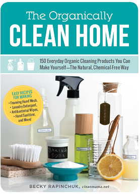 Best Cleaning Book EVER! The Organically Clean Home :: OrganizingMadeFun.com
