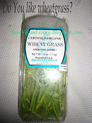 packaged wheatgrass