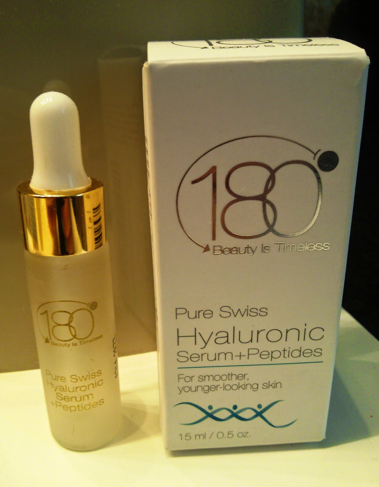 180 Cosmetics Pure Swiss Hyaluronic Serum + Peptides Review