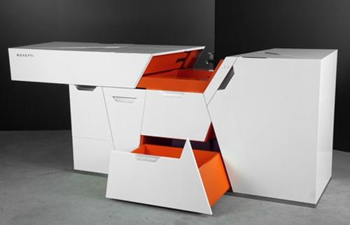design | boxetti compact kitchen, rigore contemporaneo ~ design ... - Cucine Compatte Design