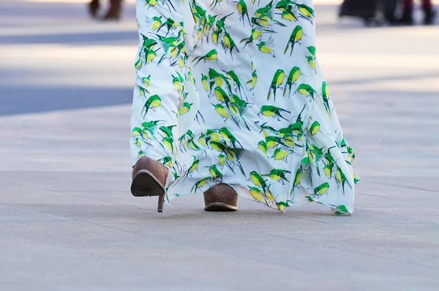 Fashion, Style, Design, Graphic Print, Birds, Street Chic, Details, New York