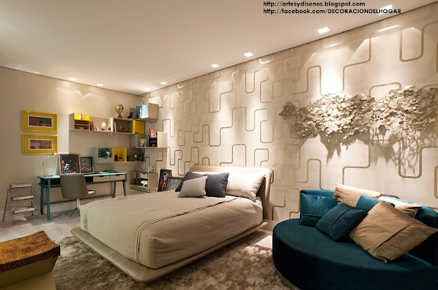 ¿Cómo Decorar Dormitorios Matrimoniales Principales? - Double Bedrooms by artesydisenos.blogspot.com