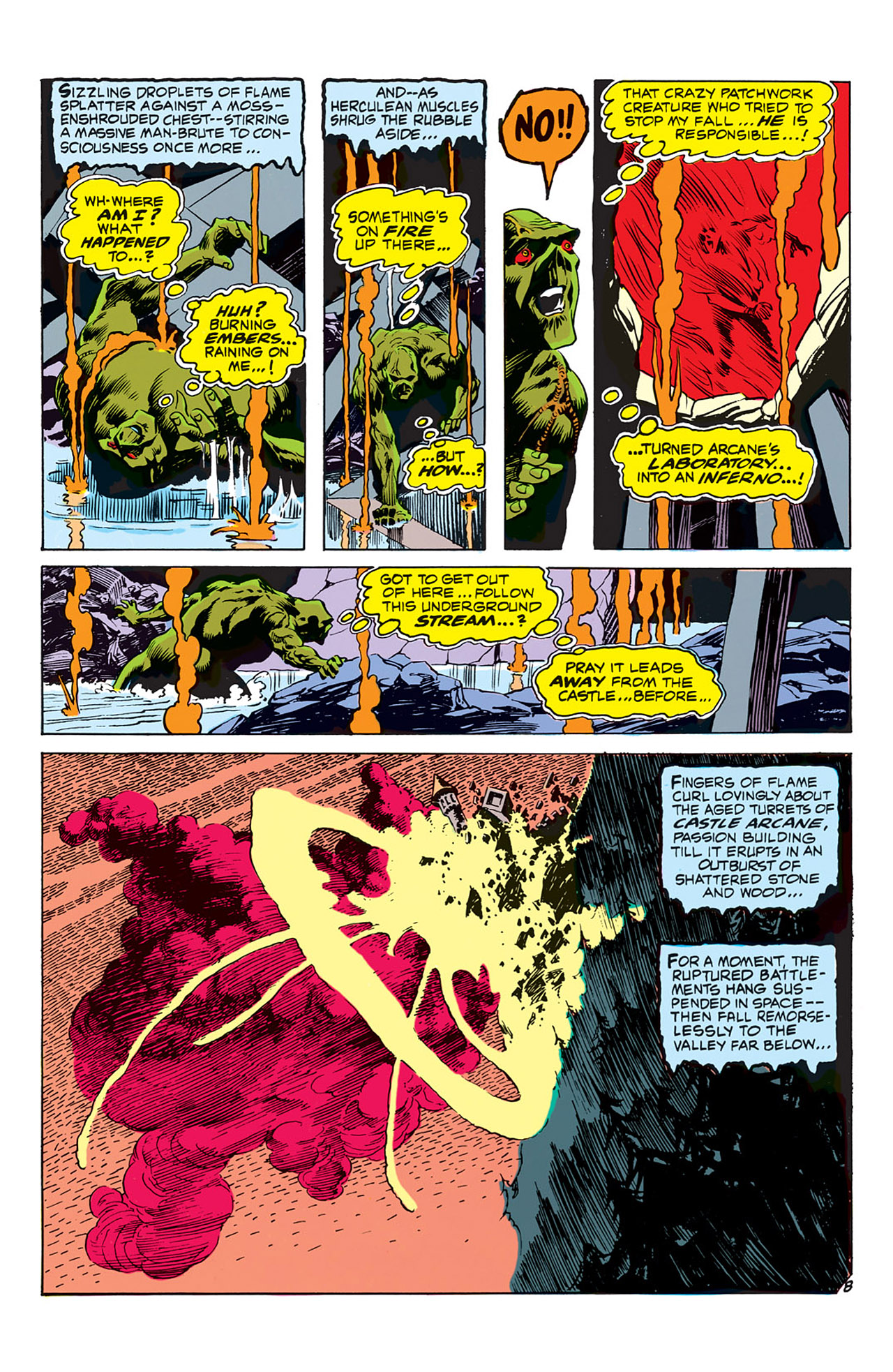 Swamp Thing (1972) Issue #3 #3 - English 9