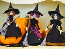 Ghastlie dolls for Halloween