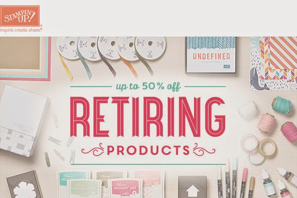 Stampin' Up Retired Products Sale