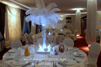 strusie pióra na wesele Szczecin