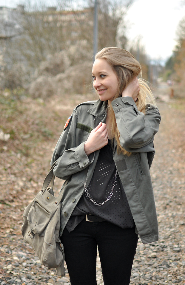veste militaire vintage stock militaire top zara trous sac billy dreyfuss