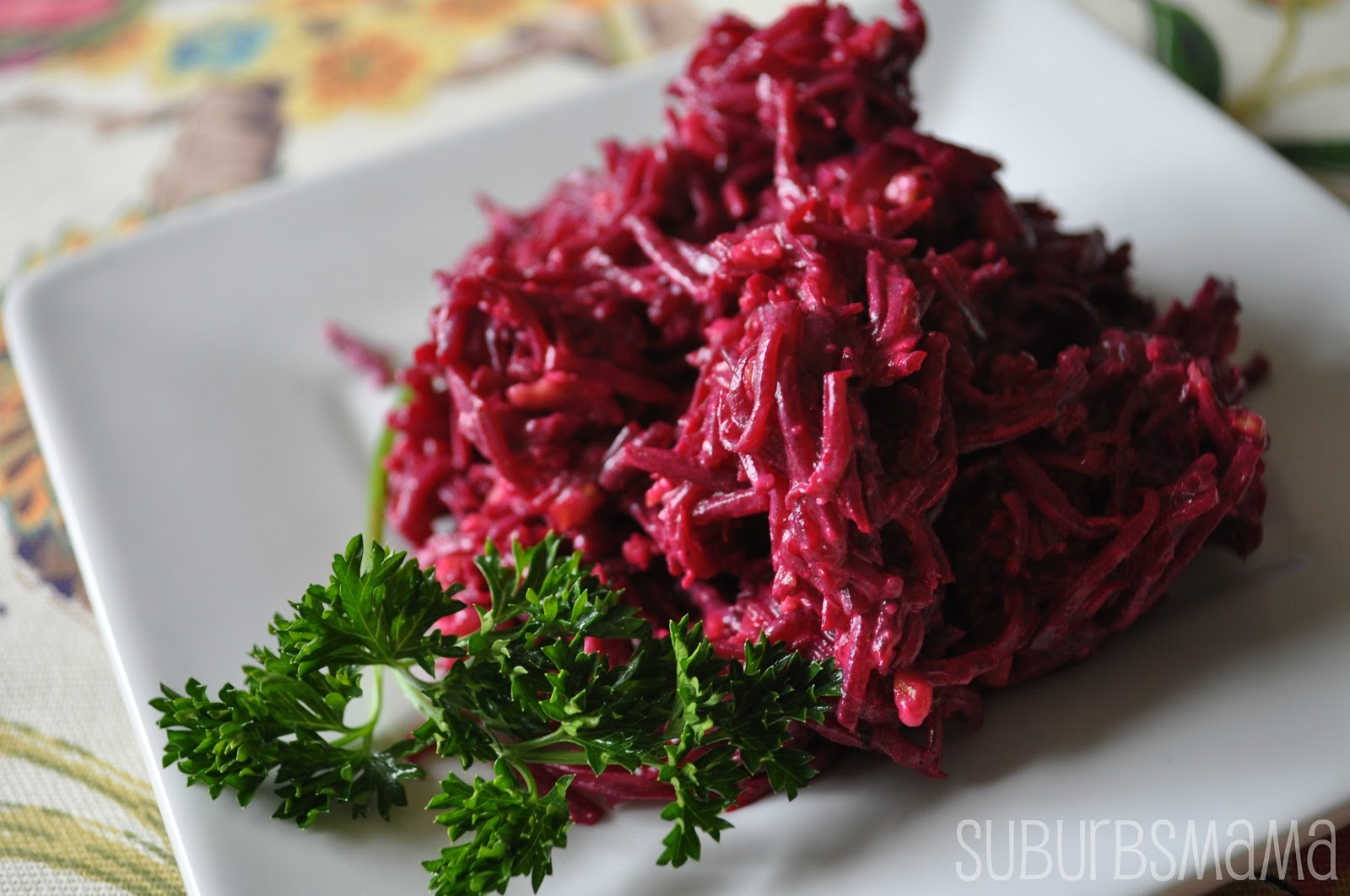 Beets with garlic and mayonnaise. Cooking recipe, useful properties and recommendations 65