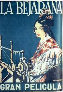 Cartel de la Bejarana, película rodada en Candelario Salamanca