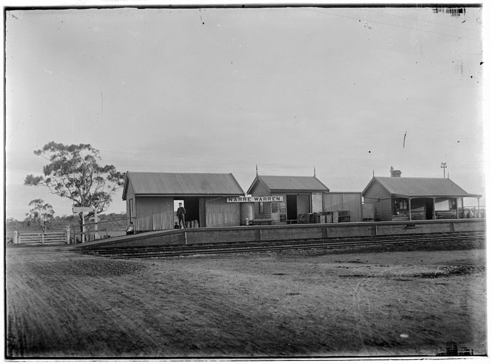 Casey Cardinia - links to our past: Narre Warren Railway Station ...