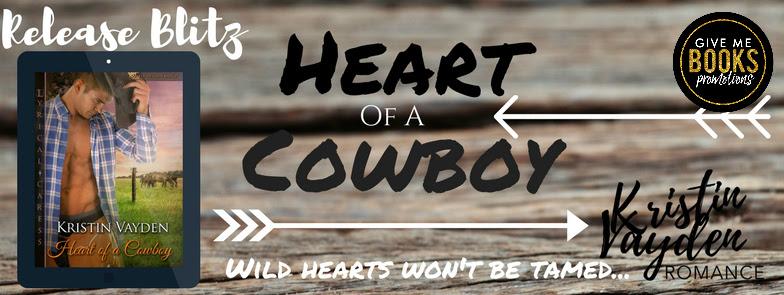 Release Blitz Heart of A Cowboy