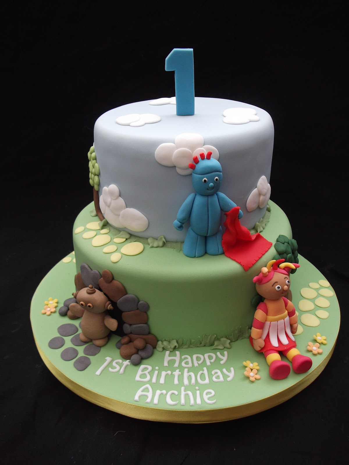 Cakes by karen in the night garden cake for In the night garden cakes designs
