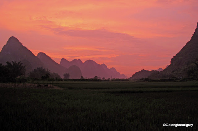 Sunset, Yulong River, Yangshou, China