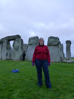 Kaliani at Stonehenge 2 Copyright 2012 Kaliani Devinne