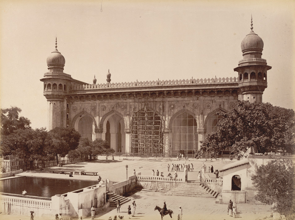 Mecca Masjid Hyderabad India