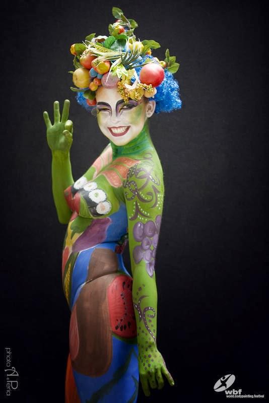 Kumpulan Foto Body Painting 3